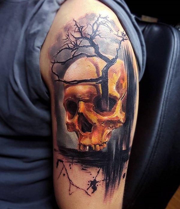 Skull Tattoos 6