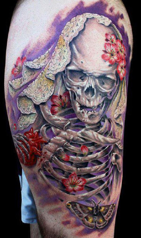 Skull Tattoos 80