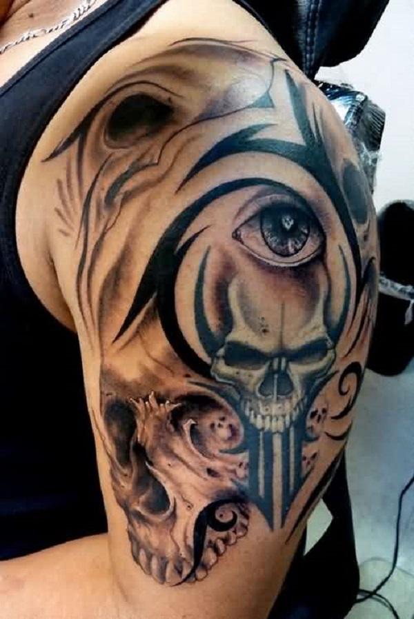 Skull Tattoos 9