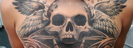 80 Frightening and Meaningful Skull Tattoos