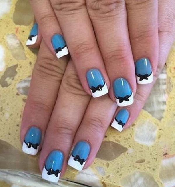 bow nail art-2