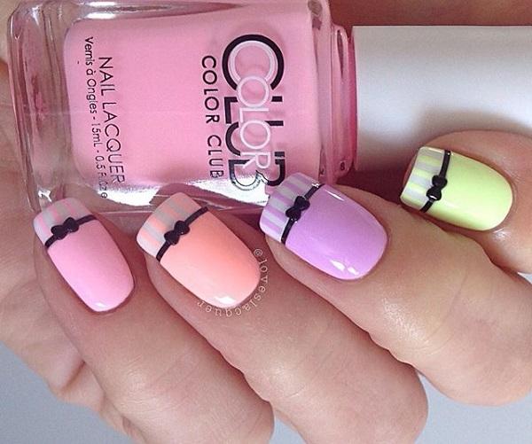 bow nail art-5