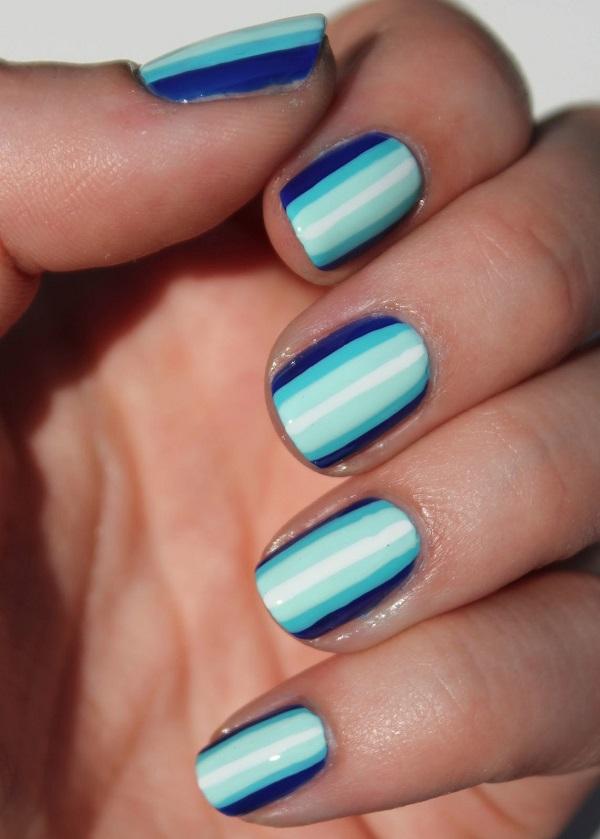 stripe nail art11