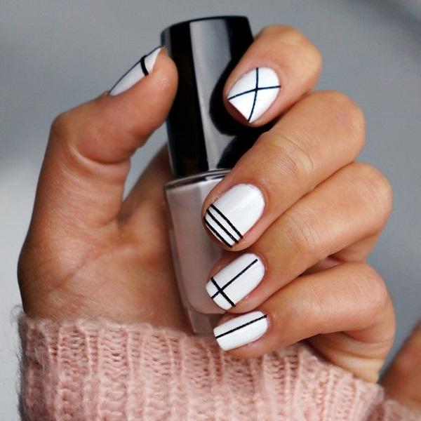 stripe nail art12