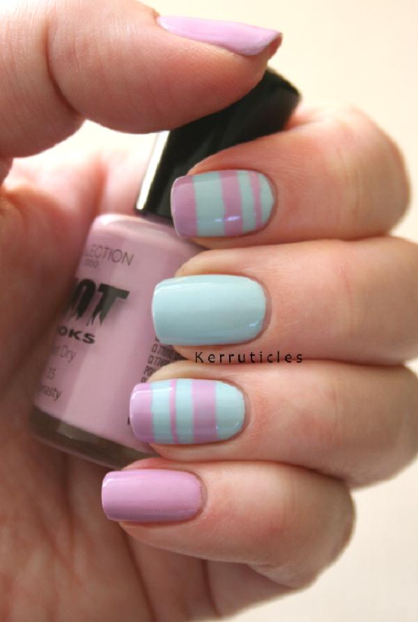stripe nail art14