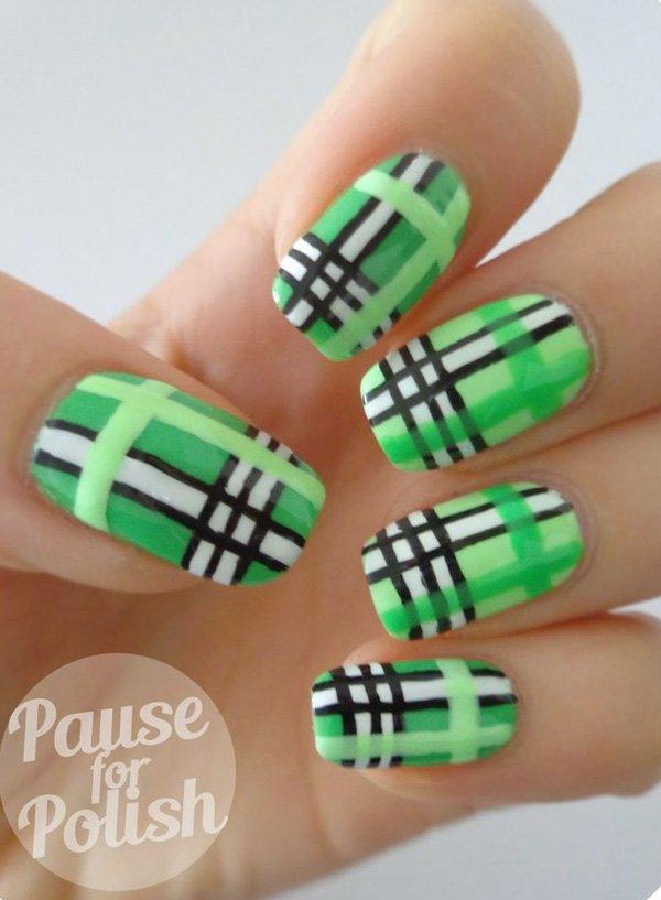 stripe nail art16
