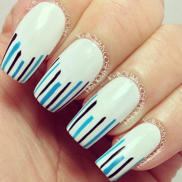 stripe nail art19