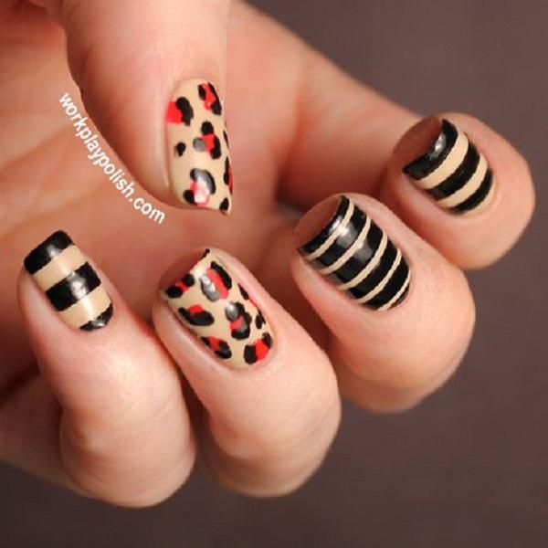 stripe nail art20
