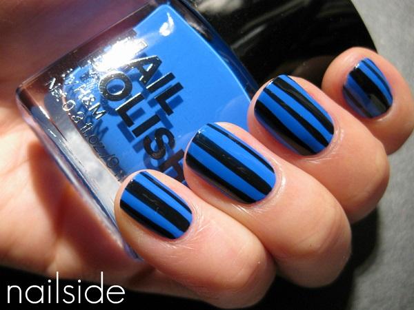 stripe nail art22