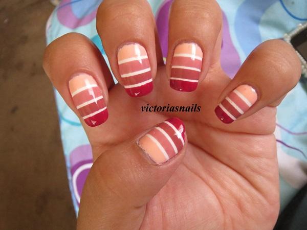 stripe nail art24