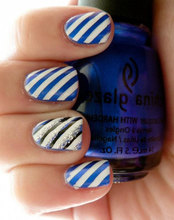 stripe nail art3
