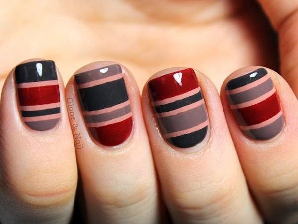 stripe nail art30