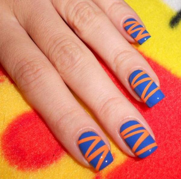 stripe nail art38