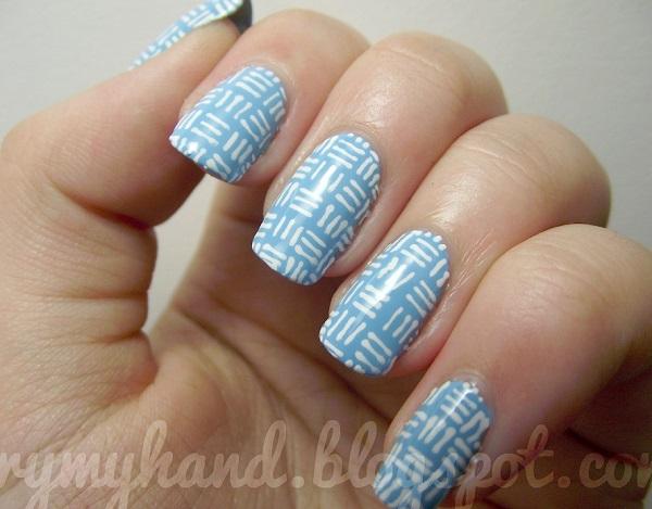stripe nail art48
