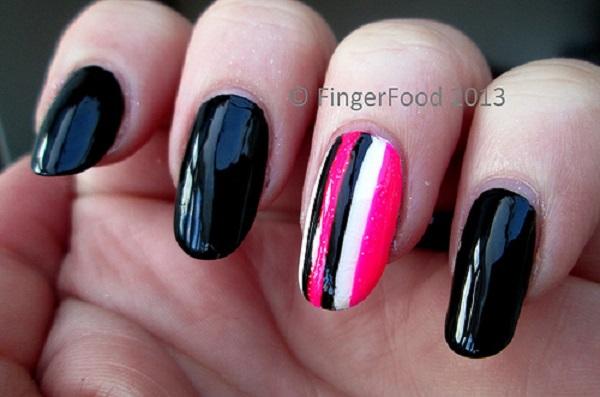 stripe nail art50