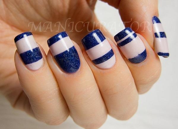 stripe nail art52
