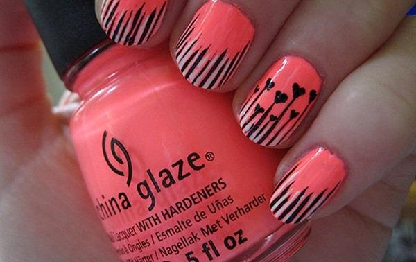 stripe nail art54