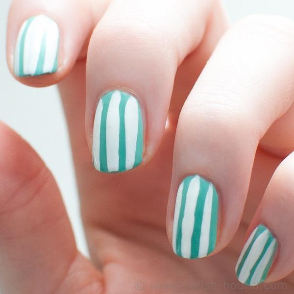 stripe nail art6