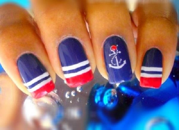 stripe nail art9