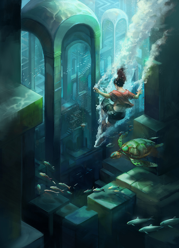 submerged_city_by_juliedillon