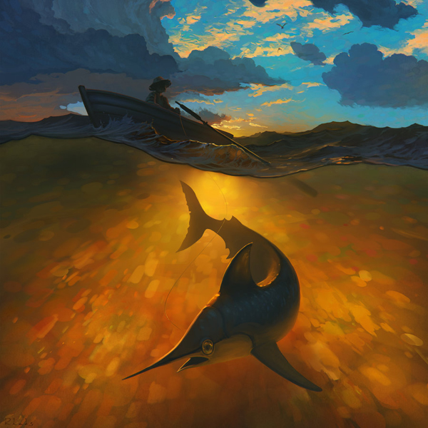 the_old_man_and_the_sea_by_rhads