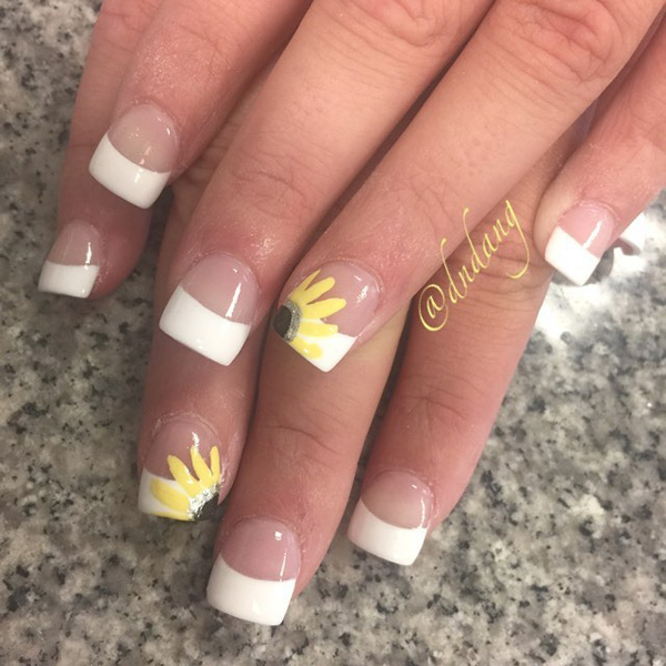 35 French Nail Art Ideas Nenuno Creative