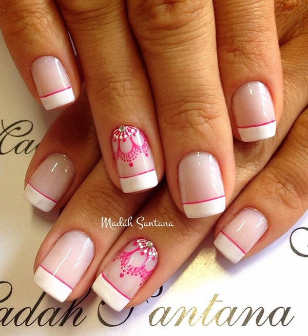 French nail art-17