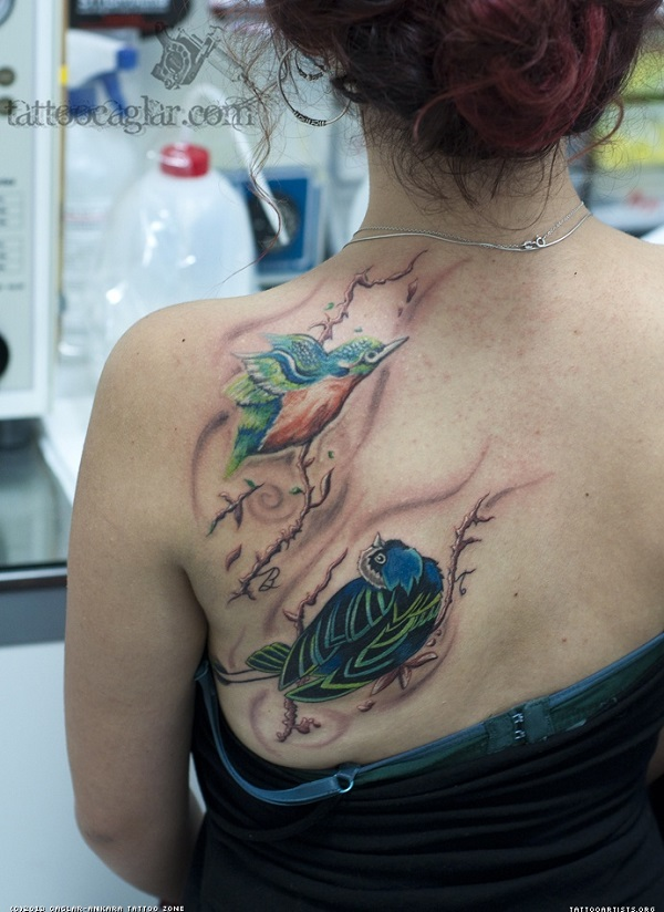 bird tattoo 11