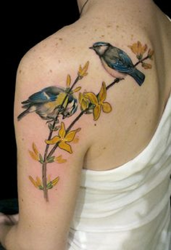 bird tattoo 2