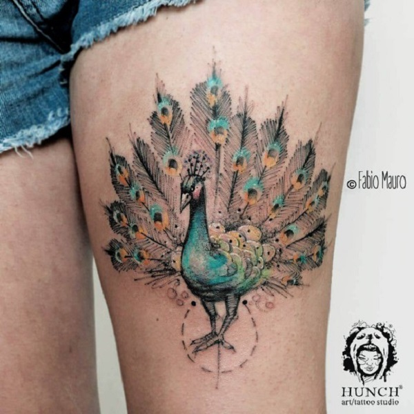 bird tattoo by Fabio Mauro!
