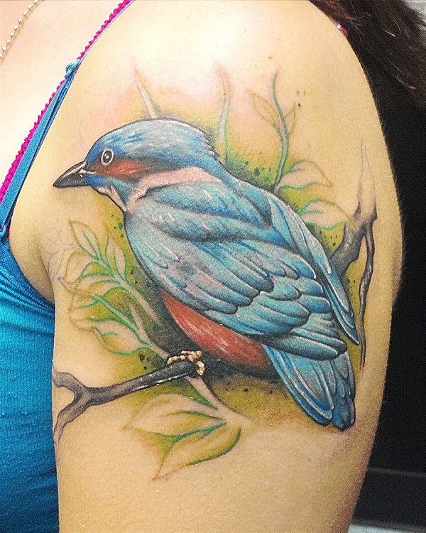 bird tattoo by shing88 d5px91e