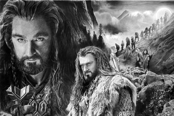 thorin_oakenshield_by_francoclun