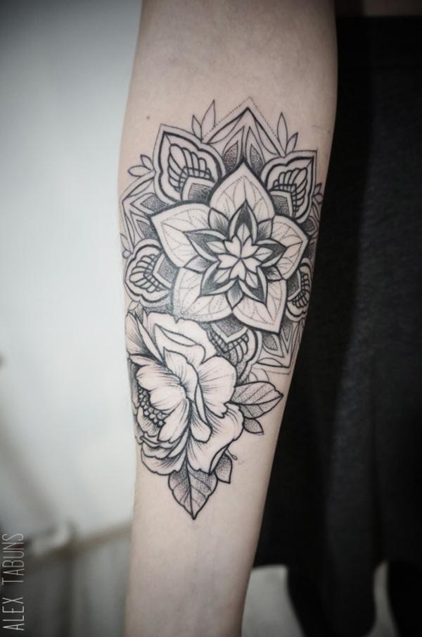 Mandala sleeve tattoo-15