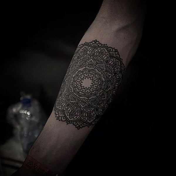 Mandala sleeve tattoo-24