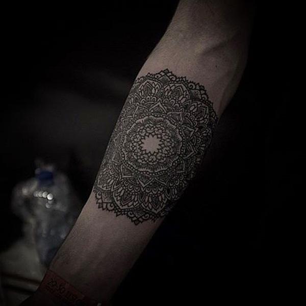 Mandala sleeve tattoo-24