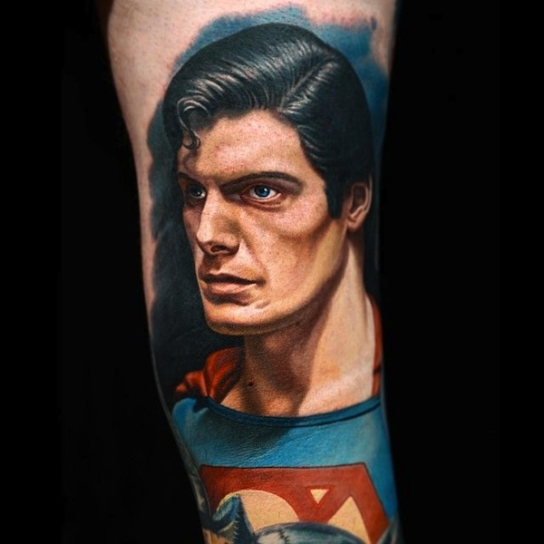 SUPERMAN TATTOOS 1