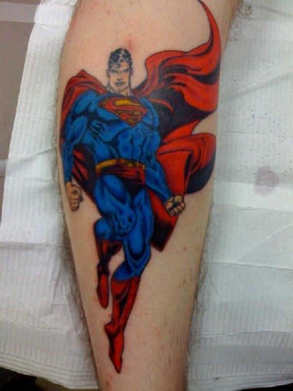 SUPERMAN TATTOOS 22