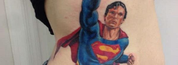 SUPERMAN TATTOOS 222