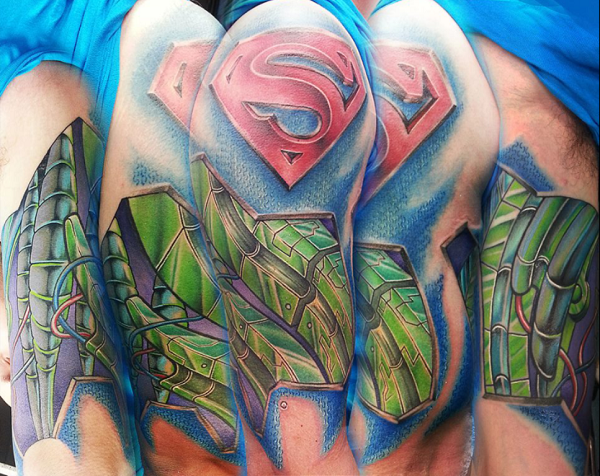 SUPERMAN TATTOOS 23