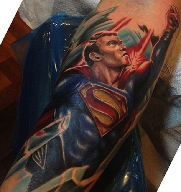 SUPERMAN TATTOOS 24
