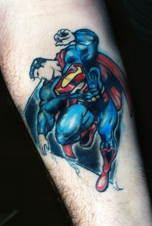 SUPERMAN TATTOOS 27