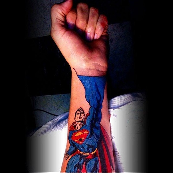 SUPERMAN TATTOOS 3
