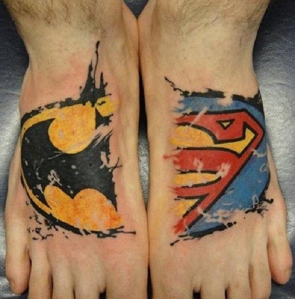 SUPERMAN TATTOOS 33