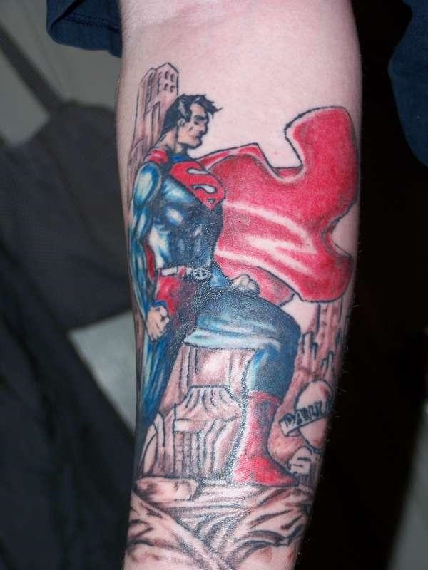 SUPERMAN TATTOOS 34