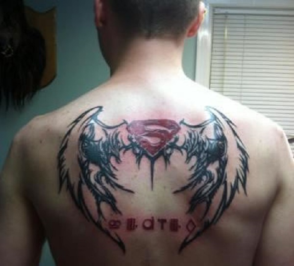SUPERMAN TATTOOS 4