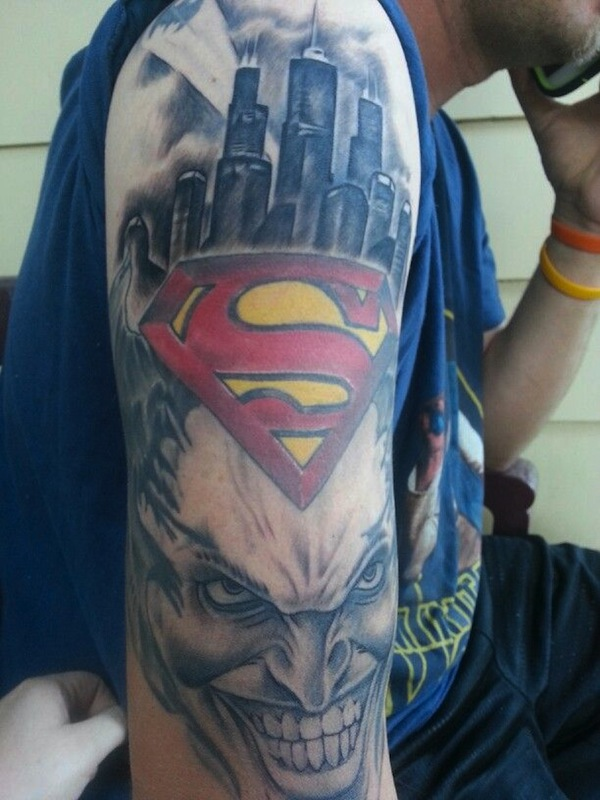 SUPERMAN TATTOOS 5