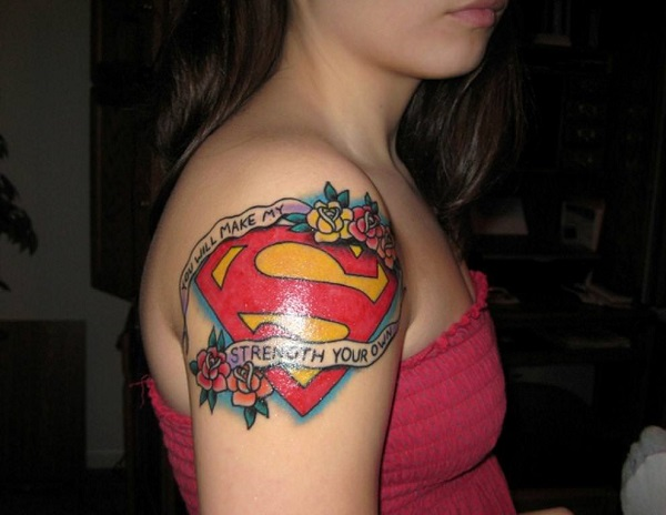 SUPERMAN TATTOOS 7
