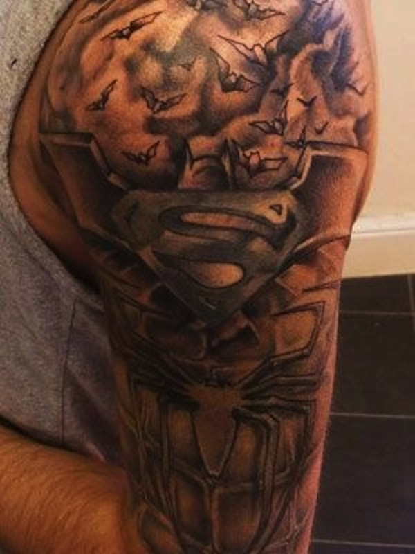 SUPERMAN TATTOOS 8
