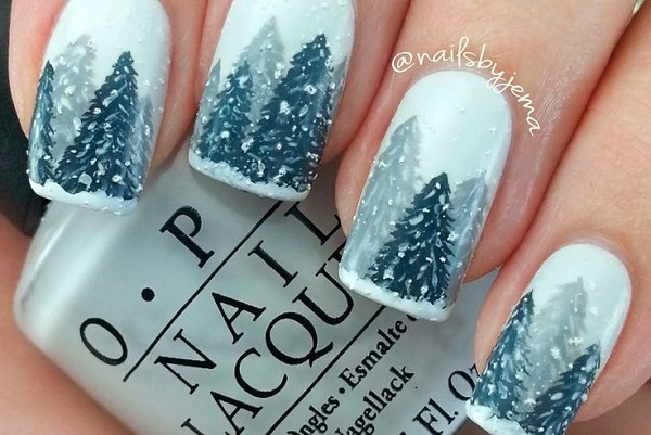 Winter Nail Art  11