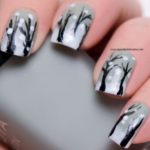 Winter Nail Art  16